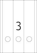 HERMA 5135 Ordneretiketten A4 weiß Papier matt blickdicht
