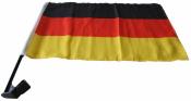 Deutschlandfahnen 2 Stück für Auto...