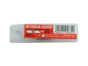 Cuttermesser Klingen BDA 200 P für Hansa NT Cutter D 400 - 200 Stück