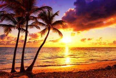 Schreibunterlage Mini 500 x 340 mm Poster Pad - Sonnenuntergang