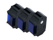 Farbbänder für Gerichtskostenstempler Modelle T1000, 3 Stück - blau