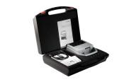 Kennzeichnungsstempel MHD Reiner jetStamp 1025 mit Tinte P5-S3-BK mit Koffer