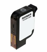 Druckpatrone P5-MP4-BK schwarz mit schnelltrocknender Farbe für Reiner jetStamp1025 MP