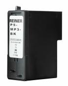 Druckpatrone P5-MP3-BK schwarz mit schnelltrocknender Farbe für Reiner jetStamp1025 MP