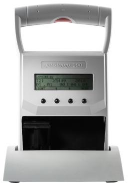 Kennzeichnungsstempel MHD Reiner jetStamp 990 mit Tinte P1-S-BK mit Koffer