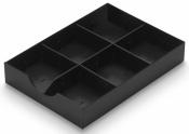 Schublade zu styrodoc Farbe schwarz