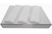 Frankieretiketten 2.000 Stück für PostBase one Streifengeber  44x167 mm weiss