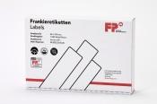 Frankieretiketten 4.000 Stück für PostBase Streifengeber, 60x159 mm, weiss
