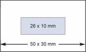 Datumstempel Modell D53V mit Textplatte und Datums- Visibleanzeige (Zg 4)