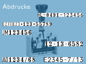 Numeroteur Reiner C1S  (Zs 4 - 6 | Zg 3,5 - 5,5)
