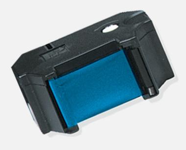 Farbbandkassette für Gerichtskosten und Gerichtskassenstempler