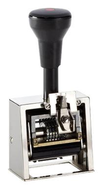 Numeroteur Modell N41a mit Textplatte (Zs 6 | Zg 4) Komplettpreis