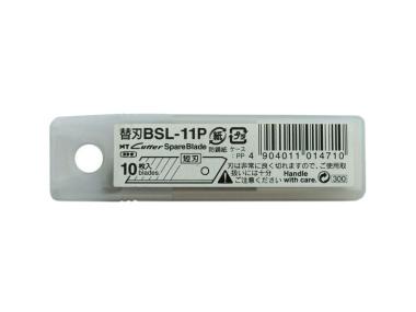 Cuttermesser Klingen BSL 11 P für NT Cutter SL 3 P - 10 Stück