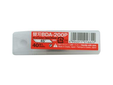 Cuttermesser Klingen BDA 200 P für Hansa Grafik NT Cutter D 1000 - 40 Stück