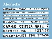 Kennzeichnungsstempel Reiner speed i Jet 798