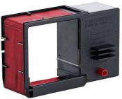 Farbbandkassetten für Reiner Stempel ChronoDater 920 rot 2er Pack