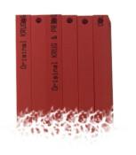 Schnittleisten für Stapelschneider EBA 480 EP