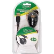 USB 2.0 Verlängerung mit Magnet Standfuss und vergoldeten Kontakten
